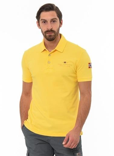 Napapijri Polo Yaka Tişört Sarı